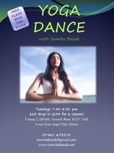 YOGA DANCE CLASSES IN LONDON